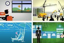 Animatiefilm / Bent u op zoek naar een bedrijf dat voor u een animatiefilm kan maken? Een bedrijf dat complexe situaties gemakkelijk kan uitleggen aan de hand van een animatiefilm? Dan zijn wij u graag van diens!