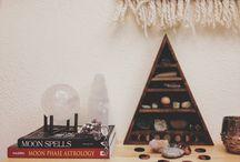 Altar Inspiration & Gemstone Displays