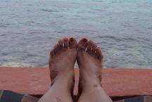¡Mis pies aman el mundo!