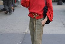 Fashion over 50 / Inspiration for the lovelies who are older and wiser.
