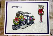 Christmas magic.. train
