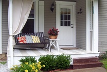 Front porch / by Lana Ambuske Ghilarducci
