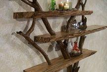 Ripiani in legno