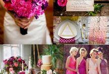 casamento fuschia, roxo rosa