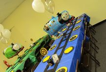 thomas and friends birthday theme