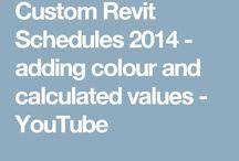 REVIT - Schedules