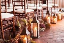 Candles & Lighting / Candles and lighting to make any wedding look absolutely stunning