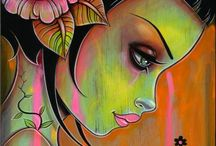Art лица-2. Caia Koopman Art