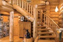 Log Home Staircases / Explore log home staircases.