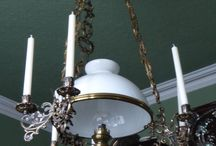 Ceiling light / Hanging light in a Victorian house