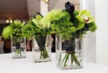 Blomster arrangement