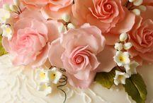 Wedding Cakes, Dessert Bar, Cupcakes / Let them eat cake! Wedding Cake ideas, dessert bars, pies, cupcakes.