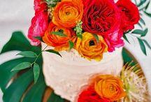 Tropical bohemian wedding