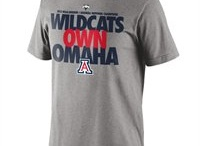 Arizona Wildcats Gear / The Arizona Wildcats are 2012 College World Series Champions! Check out Arizona Wildcats CWS Championship Merchandise, including t-shirts, hats, accessories and more for men, ladies and kids! Bear Down Cats! Savor the adrenaline of gameday with officially licensed Arizona Wildcats apparel and merchandise from the ultimate sports store! Sport your enthusiasm for University of Arizona athletics with licensed Arizona Wildcats jerseys, T-Shirts, hats and sweatshirts from Football Fanatics. / by Fanatics ®