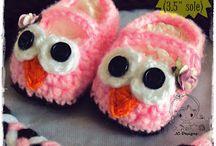 slippers / free patterns crochet