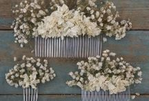 Hair Combs / Dried Flower Hair Combs