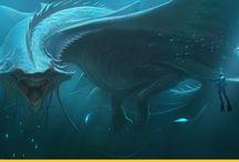 D&D морские и речные монстры