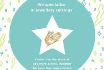 Jeweller Services / Known for selling quality hallmarked products at the best possible prices, our speciality being diamond set fine gold and silver jewellery. We also specialise in jewellery repairs, engravings and settings on the premises, as well as custom made items and valuation certificates for insurance.
