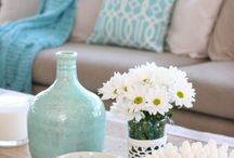 Colour Palette - Decorating with Duck Egg / All things Duck Egg Blue