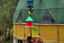 bird houses casitas pajaros y cebaderos