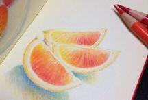 Faber-Castell Polychromos / Rajzok Faber-Castell Polychromos ceruzákkal