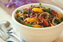 Recipe: Salads. / by Ashley A