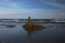 Wedding Proposals on the beach / Creating a memory in sand on South {Padre Island in Texas that the couple will remember forever