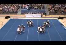 Cheer stunts high school