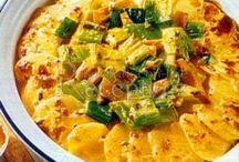 Zapecene zemiaky zo zeleninu