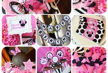Birthday Theme: Minnie Mouse