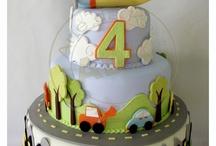 Birthday cake for little boys