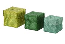 Product | BASKETS & BOXES . cesti e scatole / Boxes for different use. Contenitori per vari usi.