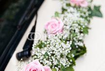 Blumendeko abends