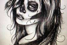 oooh skull tattoos.