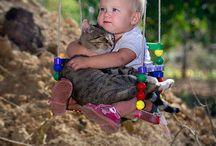 動物と子供