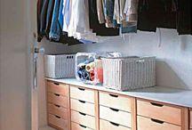 Dec - Closet / Aqui você encontra ideias e inspiração para organização e decoração de closet :)