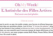 Médias et blogs / Chics parutions, articles et visuels de nos stars les Plantes