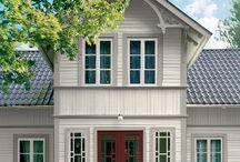Hus - Exteriör färgsättning
