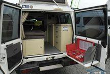 Overlanding vehicles - inside