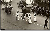 O l d S k o o l  I n f l a t a b l e s / Amazing and awesome #inflatable #Parade #Balloons from the years gone by!