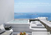 We create memories / Brand new private pool suites in Mykonos. Let us create your memories!