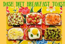 Dash Diet Breakfast Recipes / Breakfast is the most important meal of the day, here are some of the best Dash Diet Breakfast Recipes. DISCLOSURE - some pins may have affiliate links.