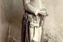 Indian Wars - armed native indians