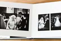 Wedding albums / Make your memories unforgettable with one of our beautiful albums. Take a look at some examples.