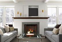 fireplaces / by Trish Boyko
