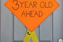 ideas for eastons 3rd bday construction theme