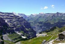 Beautiful Schilthorn hills