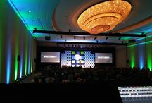 TEP Allegis 2016 / EVENTEQ provided audio, lighting, video, set design and video mapping liquid scenic for the Allegis meeting at Baltimore Waterfront Marriott in 2016