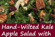 All Things Kale / From kale salads to kale chips to kale soup or sauteed kale, this board features all the ways you can cook with and love kale.