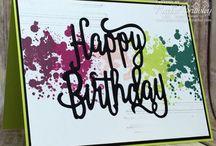 Happy Birthday Gorgeous Stampin Up!